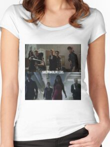 Shadowhunters  Women's Fitted Scoop T-Shirt