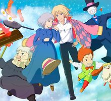 Moving Day - Howl's Moving Castle by alakaprazolam