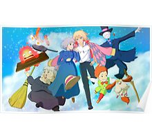 Moving Day - Howl's Moving Castle Poster