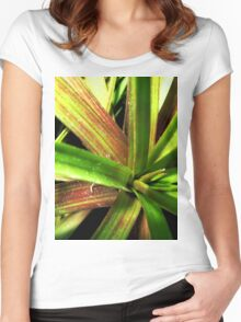 Lost in the jungle Women's Fitted Scoop T-Shirt