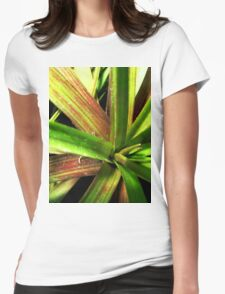 Lost in the jungle Womens Fitted T-Shirt