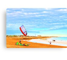 Fun Day Out Canvas Print