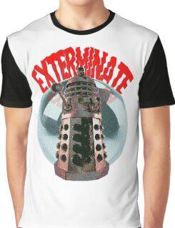 Exterminate - Dalek Graphic T-Shirt