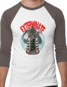 Exterminate - Dalek Men's Baseball ¾ T-Shirt