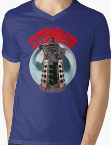 Exterminate - Dalek Mens V-Neck T-Shirt