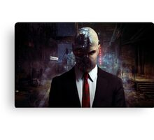 Dishonored x Hitman Canvas Print