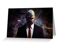 Dishonored x Hitman Greeting Card