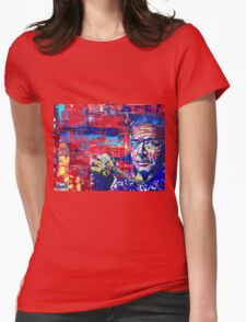 Gerhard Richter  Womens Fitted T-Shirt