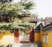 Ancient Streets of Nanjing, China Sticker
