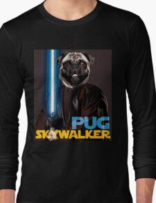 Pug Skywalker Long Sleeve T-Shirt