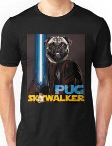 Pug Skywalker Unisex T-Shirt