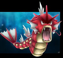Shiny Gyarados by ShinyhunterF