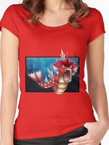 Shiny Gyarados Women's Fitted Scoop T-Shirt
