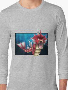Shiny Gyarados Long Sleeve T-Shirt