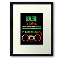 Bizzare Tribe Framed Print