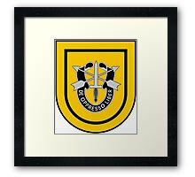 1st Special Forces Framed Print