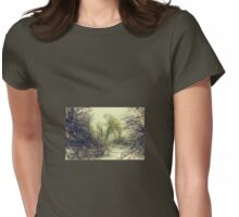 Winter colors Womens Fitted T-Shirt