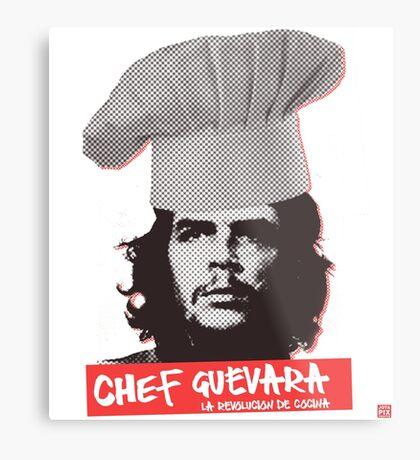 Chef Guevara Metal Print