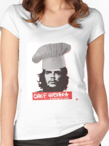 Chef Guevara Women's Fitted Scoop T-Shirt