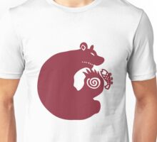 The Seven Deadly Sins - The Grizzly Sin of Sloth (Red) Unisex T-Shirt