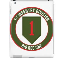 1st Infantry Big Red One iPad Case/Skin