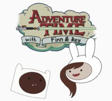 Adventure Time with Finn & Rey Kids Clothes
