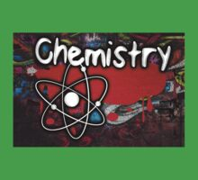 Famous humourous quotes series: Chemistry Graffiti with atom Kids Tee