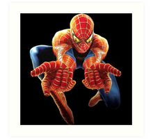 superhero Art Print