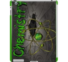 Famous humourous quotes series: Chemistry Graffiti with atom iPad Case/Skin