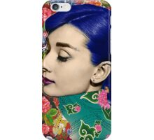 Audrey Piercing iPhone Case/Skin