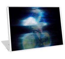 Riding is fun Enjoy life with a bicycle Laptop Skin