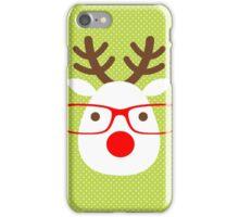 Hipster Reindeer iPhone Case/Skin