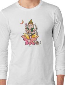 Sri Ganesha Long Sleeve T-Shirt