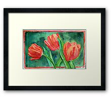 Tiptoe Through Them Framed Print