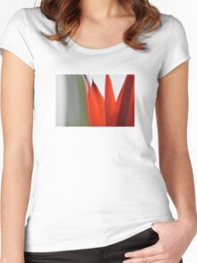 Red Tulip Women's Fitted Scoop T-Shirt