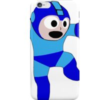 Megaman Retro 8-Bit Geek Smoothed Sticker Nerd iPhone Case/Skin