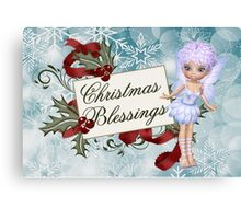 Christmas Blessings Canvas Print