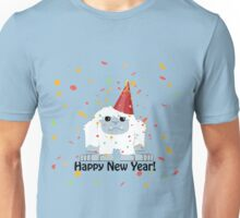 Happy New Year Yeti Unisex T-Shirt