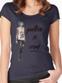 Chloe Price - Partner in Crime Women's Fitted Scoop T-Shirt