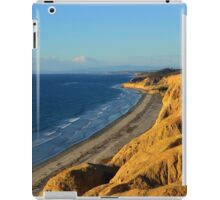 Flying Above Sea Level at Black's Beach iPad Case/Skin