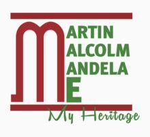 Martin Malcom Mandela Me Kids Clothes