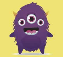 Cute Little Fuzzy Monster!!! Kids Clothes