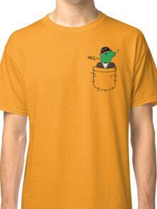 Pocket Reptilian - Leafy ( Leafyishere ) Classic T-Shirt