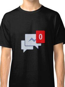 Facebook Chat Messages - Messenger  Classic T-Shirt