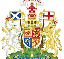 Royal Coat of Arms of United Kingdom (Scotland) by abbeyz71