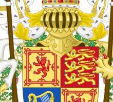 Royal Coat of Arms of United Kingdom (Scotland) Sticker