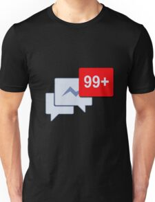 Facebook Chat Messages - Messenger  Unisex T-Shirt