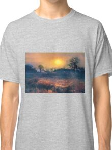 Crossing Through The Meadows Classic T-Shirt