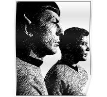 Star Trek Spock&Kirk Poster