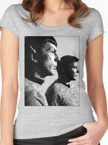 Spock&Kirk Women's Fitted Scoop T-Shirt